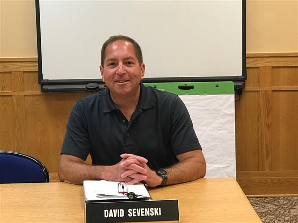 Board of Education President David Sevenski