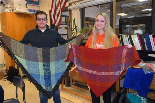 FAA Students with shawls