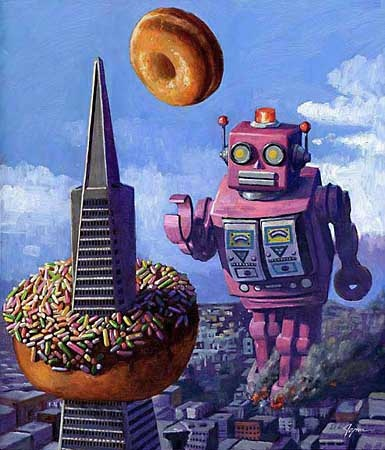 Eric Joyner, Robots and Donuts!